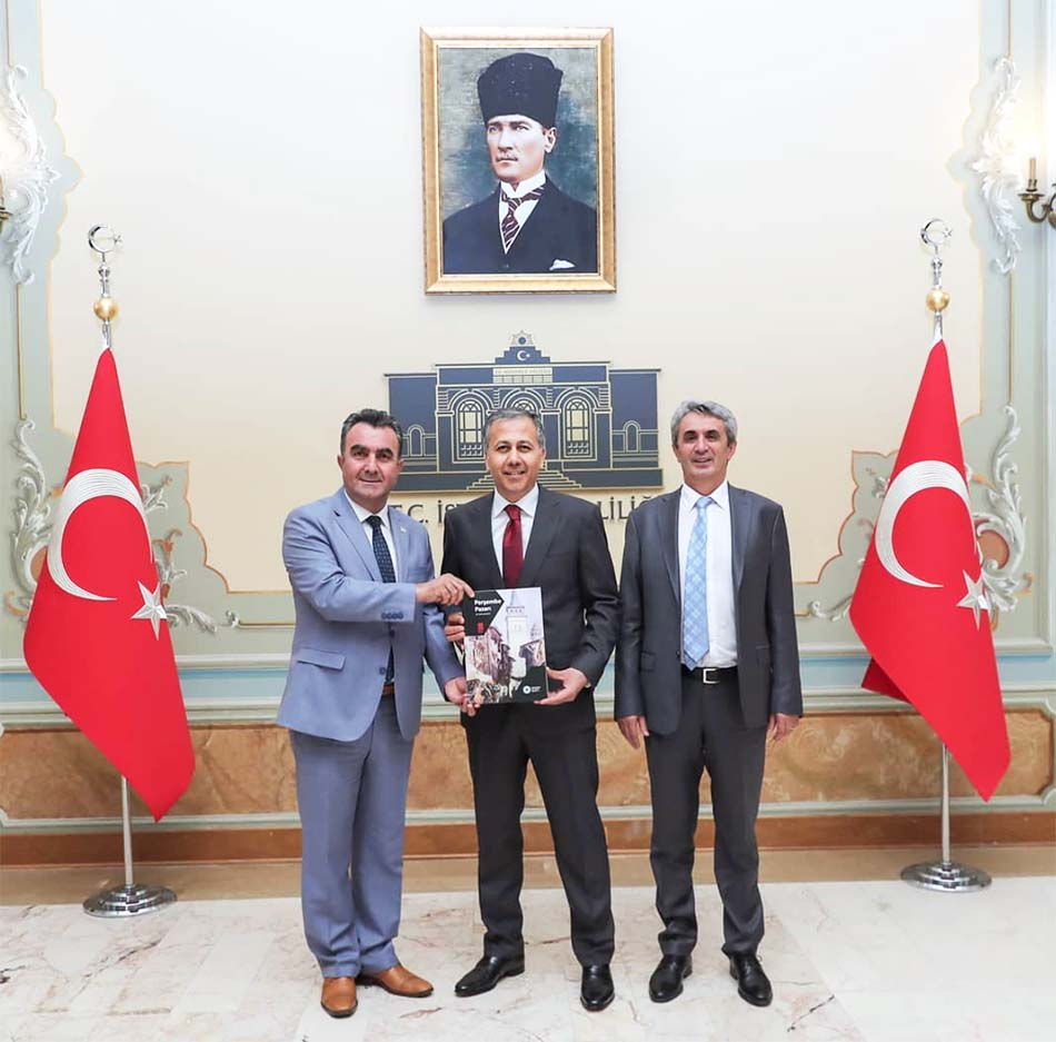 İstanbul Valilik Ziyareti Hasan Sezgin, Hacı Demir