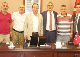 Recep Gürkan Perpa'yı Ziyaret Etti