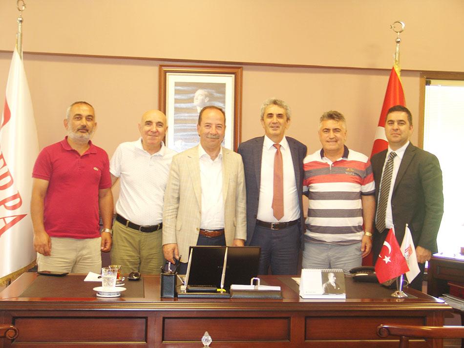 Edirne Belediye Başkanı Perpa'da