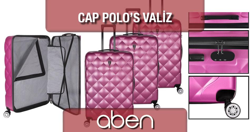 Cap Polo Valiz Çeşitleri