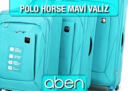 Polo Horse Mavi Valiz