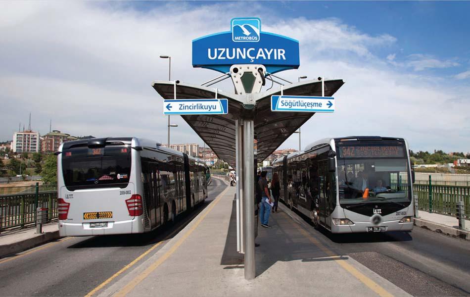 İstanbul'da 24 Saat Ulaşım