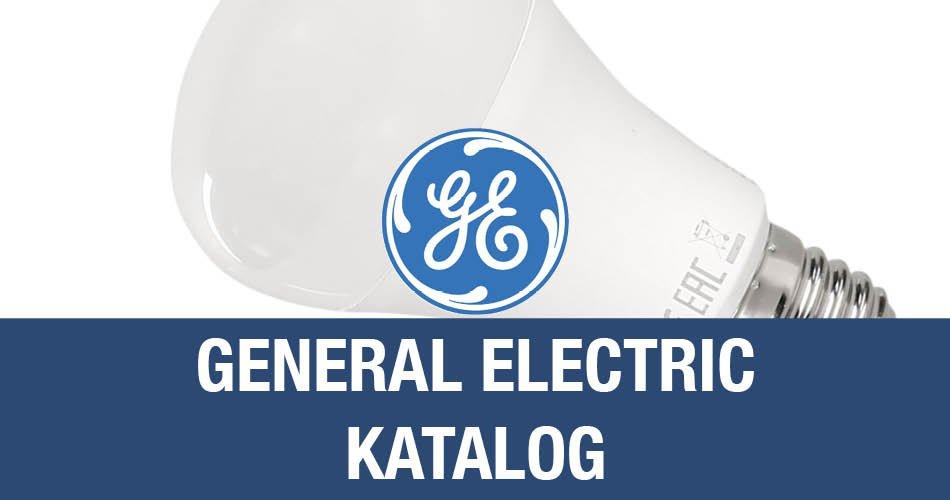 GE General Electric Katalog