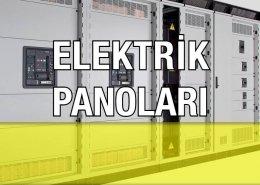 Elektrik Panoları, Dağıtım, Kompanzasyon Panoları