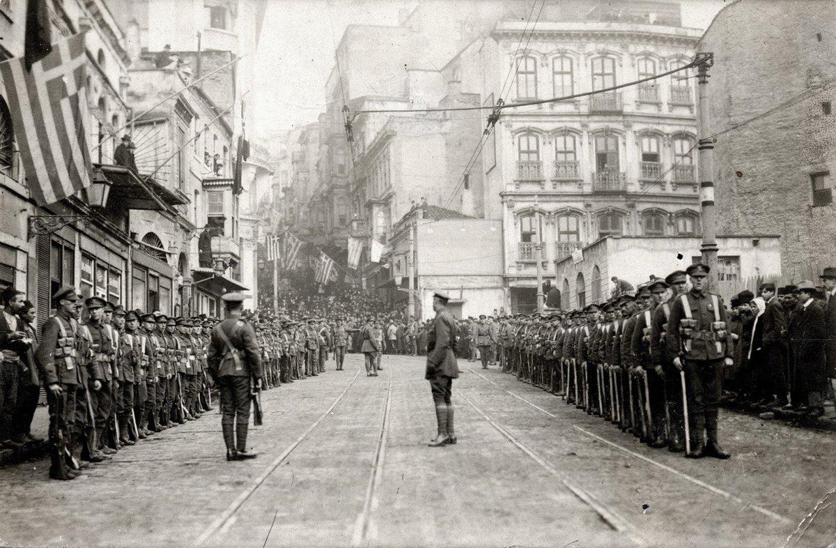 İşgal Yıllarında İstanbul Beyoğlu