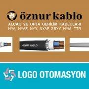 Öznur Kablo Ürünleri Logo Otomasyon
