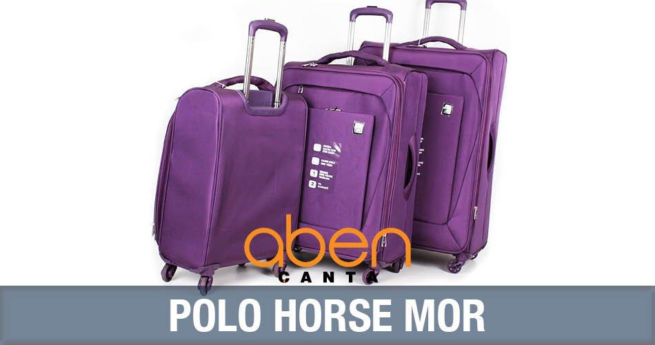 Polo Horse Mor Valiz
