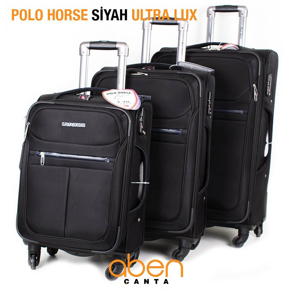 Polo Horse Siyah Ultra Lux