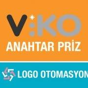 Viko Anahtar Priz Logo Otomasyon