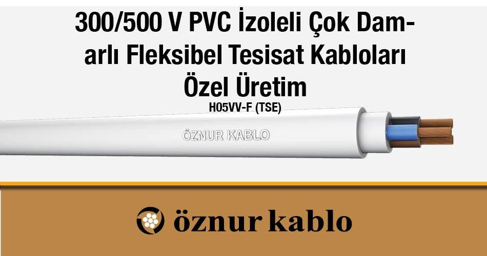 05VV-F Tesisat Kablosu