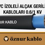 PVC İzoleli Alçak Gerilim Kabloları