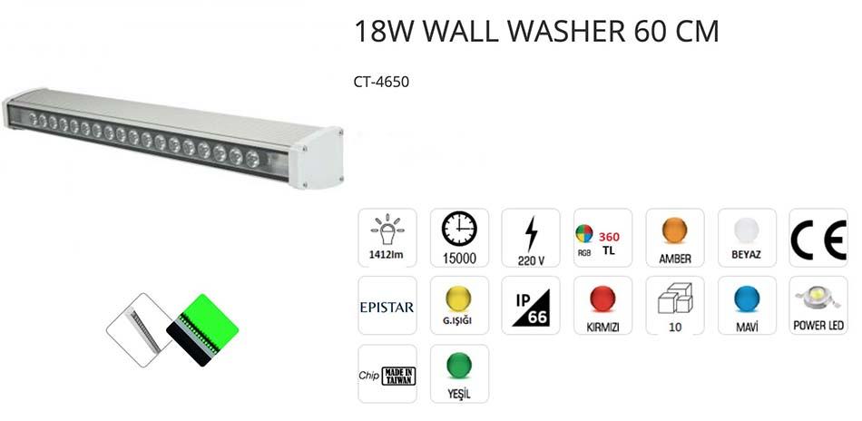 18 W 60 Cm ct-4650