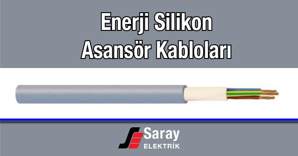 Enerji Silikon Asansör Kabloları