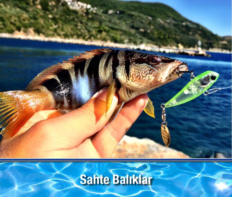 Sahte Balık Çeşitleri Suni Yemler