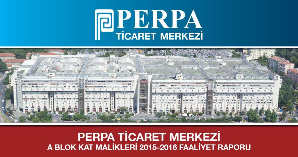 2015-2016 Faaliyet Raporu