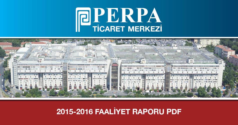 2015-2016 Faaliyet Raporu Pdf