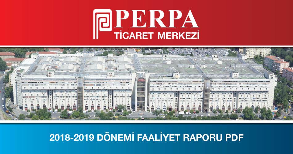 2018-2019 Faaliyet Raporu PDF