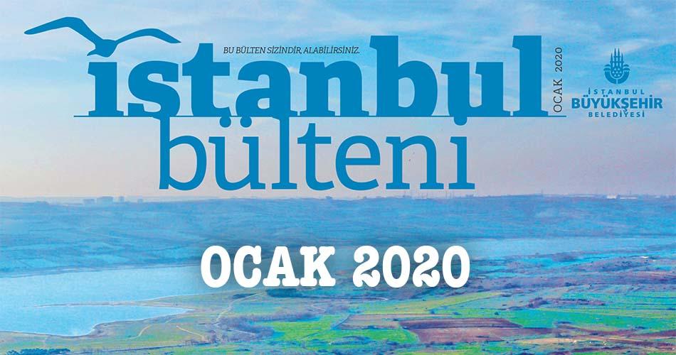 İstanbul Bülteni Ocak 2020