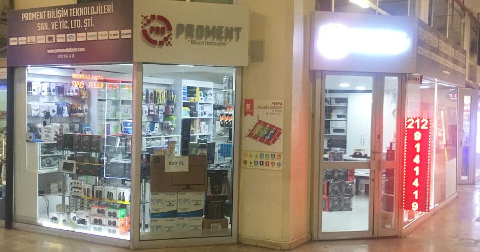 Perpa A Blok 8. Katta Satılık Dükkan