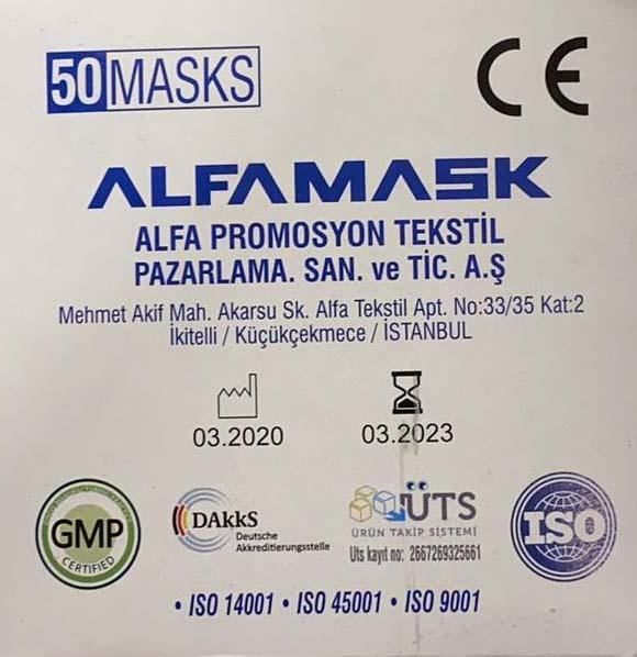 Alfamask Maske