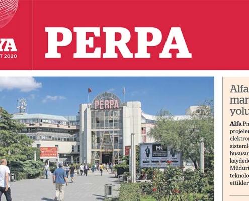 Dünya Gazetesi Perpa Eki Yayınlandı