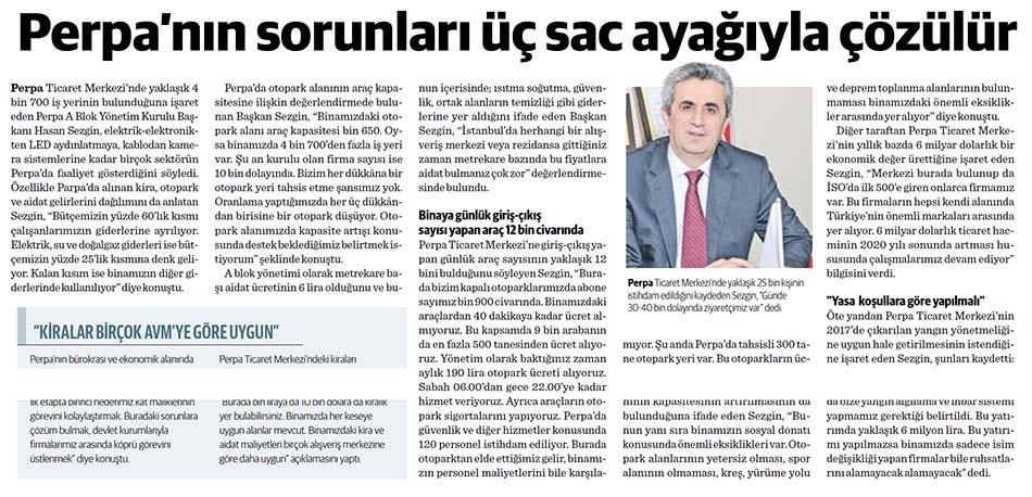 Başkan Hasan Sezgin Perpa'yı Anlatıyor