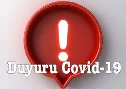 Korona Virüs Perpa Önlemleri
