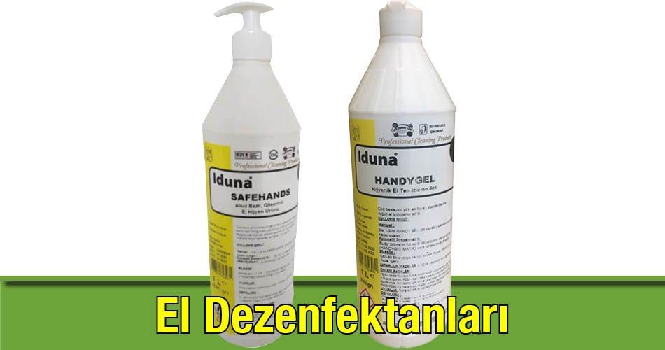 el dezenfektanlari el dezenfektani cesitleri iduna perpa