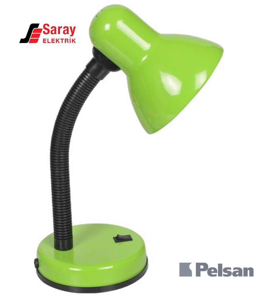 Pelsan Yeşil Masa Lambası