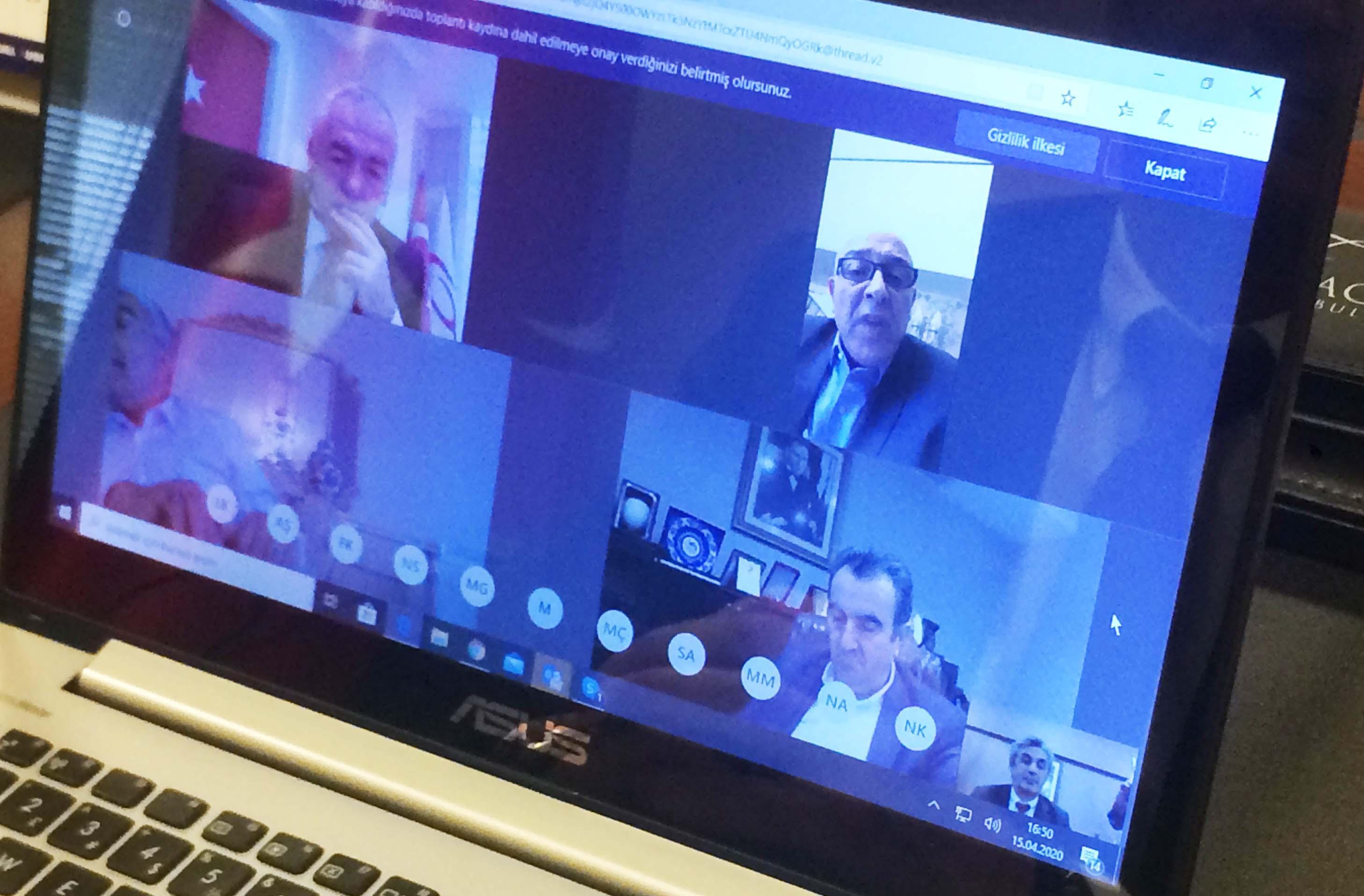 İBB Ticaret Merkezleri Toplantısı Hacı Demir