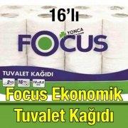 Focus Ekonomik Tuvalet Kağıdı 16'lı
