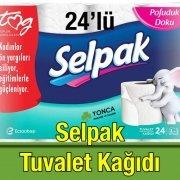 Selpak Tuvalet Kağıdı 24'lü