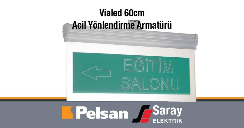 Pelsan Vialed 60cm Acil Yönlendirme Armatürü