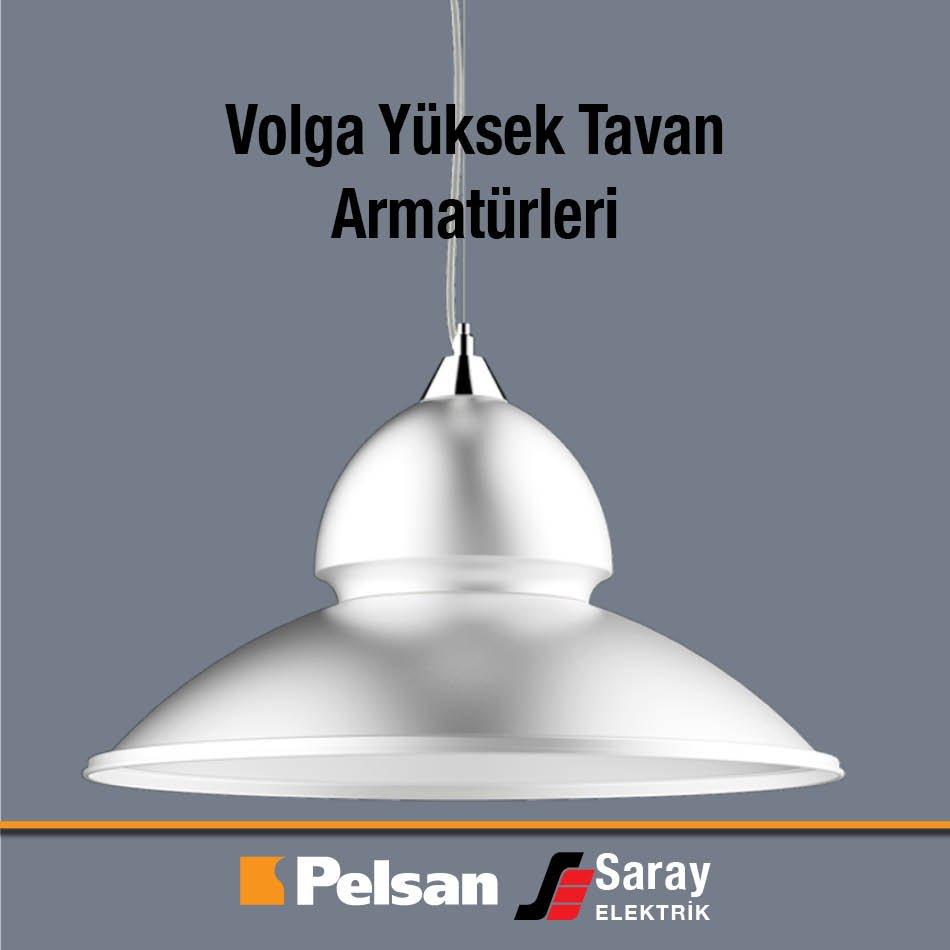 Pelsan Volga Yüksek Tavan Armatürler