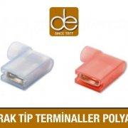 Bayrak Tip Terminaller Polyamid