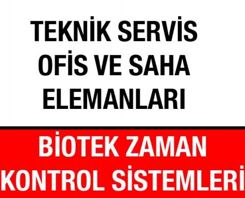 Teknik Servis Ofis Saha Satış Elemanları