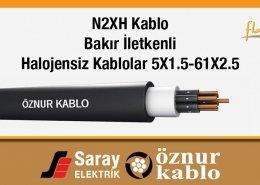 N2XH Halojensiz Kumanda Kabloları