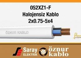 052XZ1-F Halojensiz Kablolar