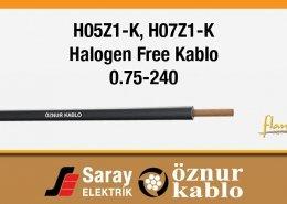 H05Z1-K H07Z1-K Halogen Free Kablolar