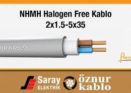 NHMH Halogen Free Kablo 300/500 V Çok Damarl