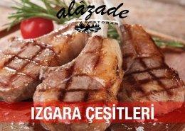 Izgara Çeşitleri Alazade Restoran