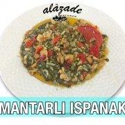 Mantarlı Ispanak Sebze