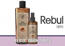 Rebul Dark Spice Kolonya