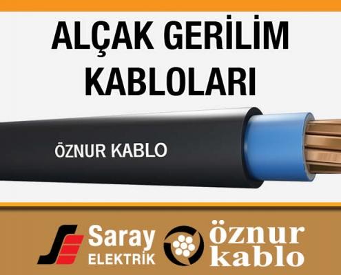 Alçak Gerilim Kabloları Öznur Kablo