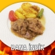 Alazade Restoran Dana İncik Fırında Patatesli