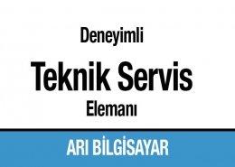 Deneyimli Teknik Servis Personeli