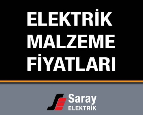 Elektrik Malzeme Fiyat Listeleri