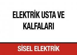 Elektrik Usta ve Kalfaları Sisel Elektrik