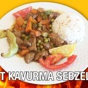 Alazade Et Kavurma Sebzeli