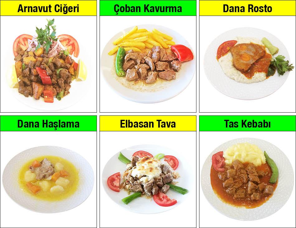 Alazade Restoran Günün Yemekleri